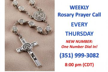Weekly KOFPC National Rosary Dial In